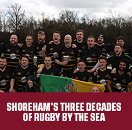 THREE DECADES OF RUGBY BY THE SEA
