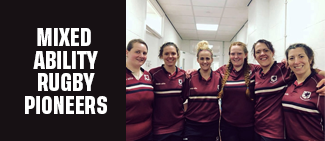 THE MIXED ABILITY RUGBY PIONEERS