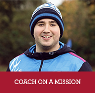 A COACH ON A MISSION